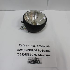 Фара МТЗ,ЮМЗ передняя с ламп. в метал. корпусе (пр-во Украина) ФГ-305М