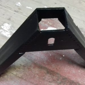 Автосцепка на сельхозтехнику усиленная универсальная 2 слоя металла (быстросъем) для дискования почвы
