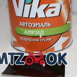 Краска Vika алкид шоколадная однокомпонентная 0,8 л