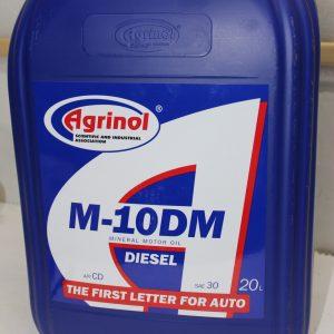 Масло М-10DM Agrinol 20л SAE 30 для дизельных двигателей