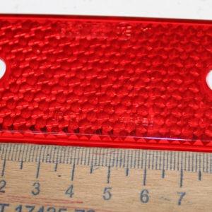 Катафот прямоугольный с отверстиями