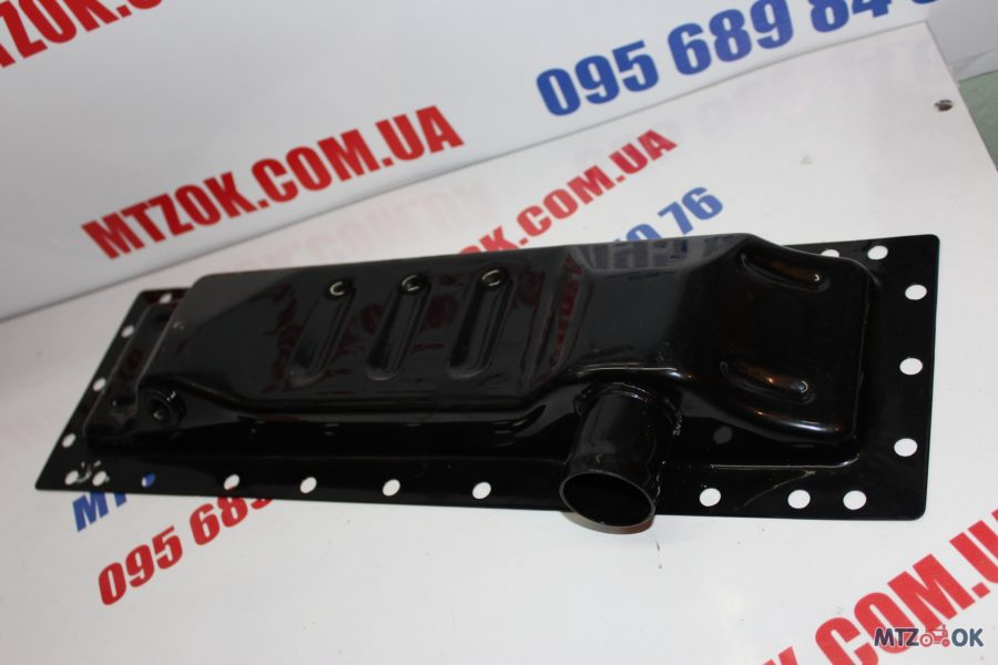 Бак радиатора МТЗ 80, Т 70 нижний (металл) 70У-1301075