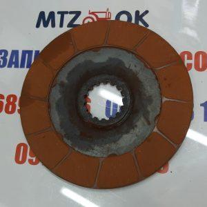 Диск тормозной МТЗ 100 (пр-во Украина) красный 85-3502040
