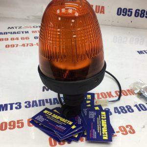 Мигалка оранжевая LED 12-24В (ТР518-6)