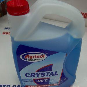 Омыватель стекла Кристалл зимний 4 литра