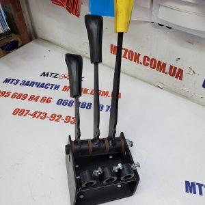 Блок рычагов управления гидравликой распределителя РЛ70 с рукоятками