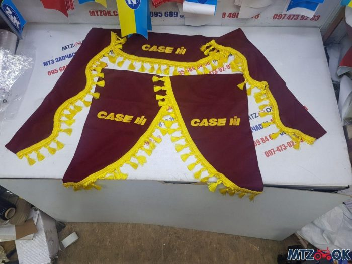 Шторы в кабину Кейс к-т (ткань) комбайн